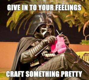 Vader craft pretty