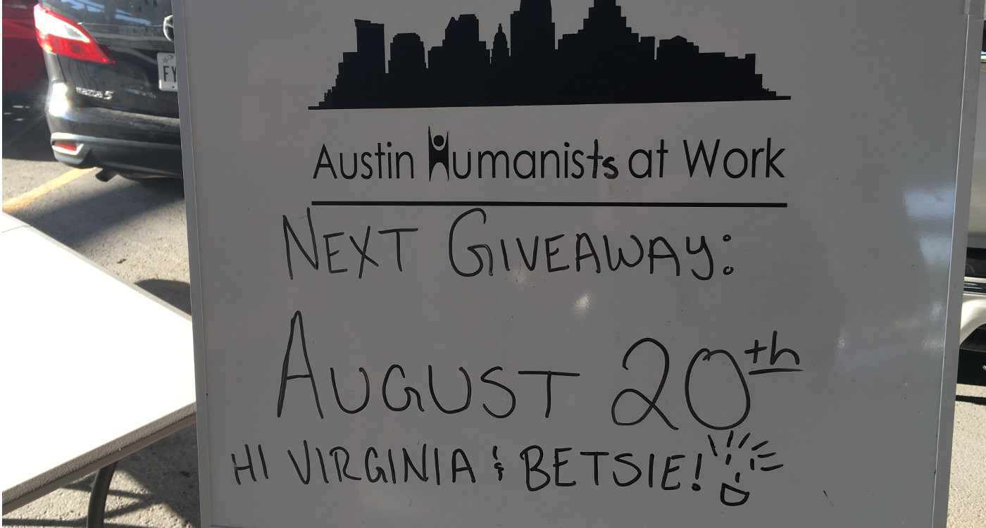 Our Next Giveaway