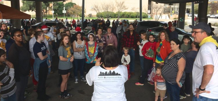 How 70+ Austinites celebrated humanism on Christmas morning