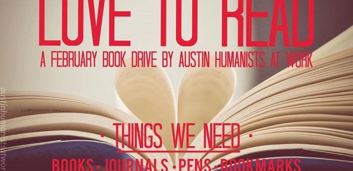 Announcing ATXHAW's 2nd Annual Love to Read Book Drive!
