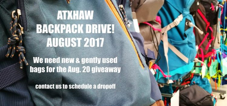 What we need for the August 20th giveaway!