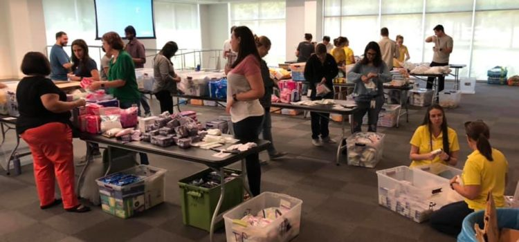 Our largest kit-making volunteer event was a huge success. Thank you!