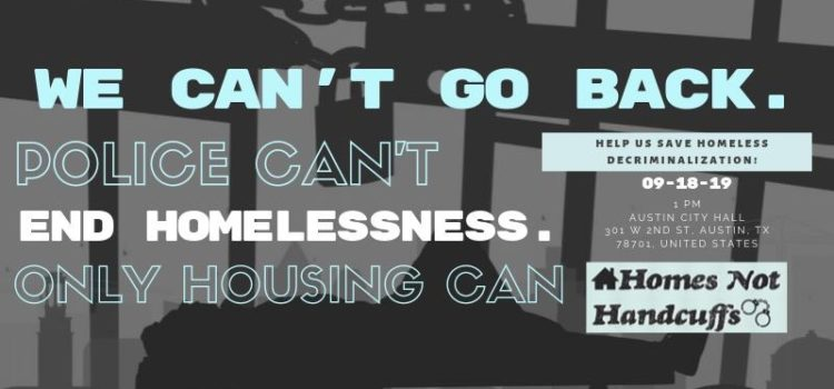 Defend Homes not Handcuffs: We can't go back.
