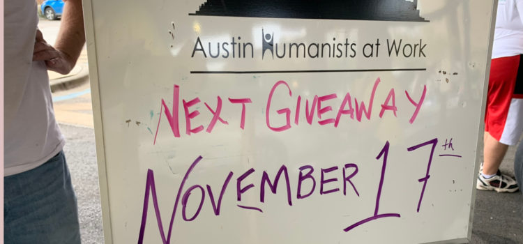 Shampoo and conditioner, plus more items we need for the ATXHAW November 17 Giveaway