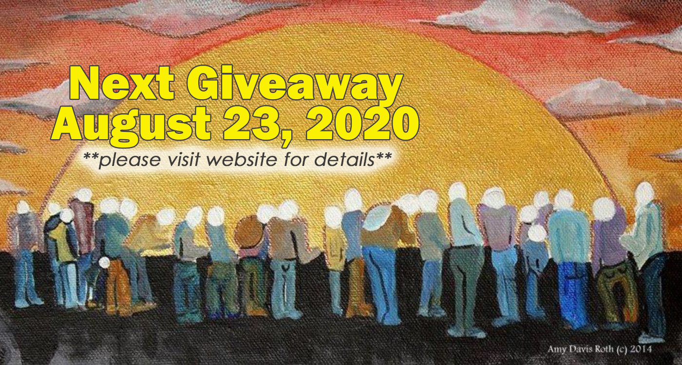 August 23 2020 - Modified Giveaway